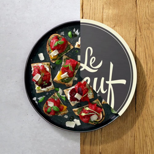 Collective le Boeuf Tartines & Salad